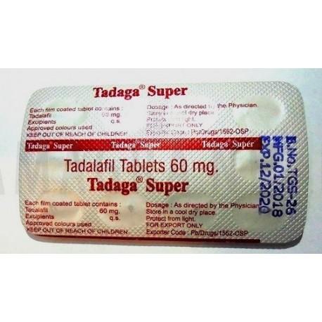 Tadaga Super 60mg