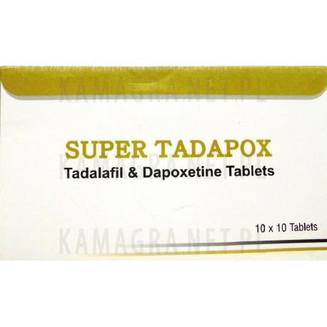 Super Tadapox 40mg + 60mg